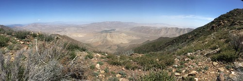 Our first panoramic desert views from up high