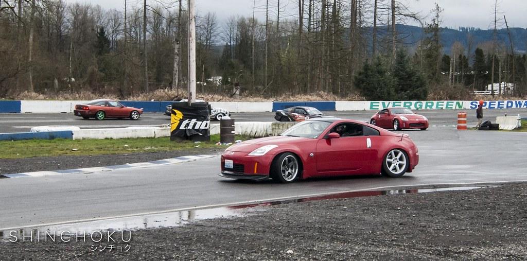 Evergreen Drift - Open Drift Season Opener (3/14/15)
