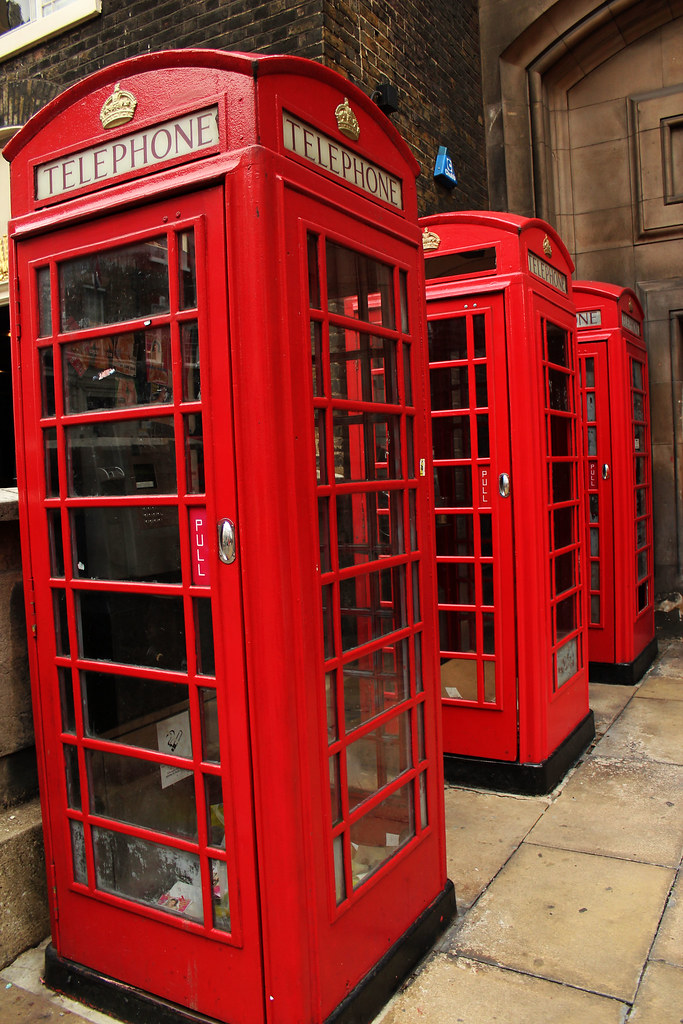 Telefonbokse i London