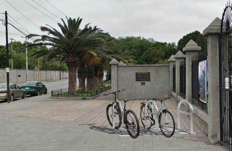 Parque Xochipilli 1 exterior acercamiento - Simulación Estacionamiento