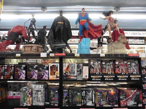 Tiendas y lugares frikis en Nueva York: Midtown Comics Times Square