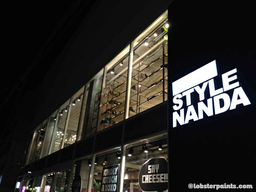 4 Oct 2014: Style Nanda @ Hongdae (Hongik University Street) | Seoul, South Korea