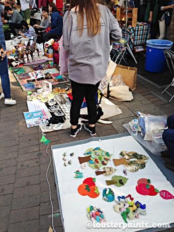 4 Oct 2014: Hongdae Free Market @ Hongdae Playground   Seoul, South Korea