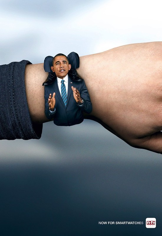N-tv - Obama Smartwatch