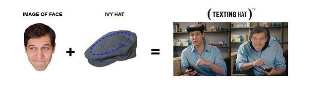 TEXTING HAT 5