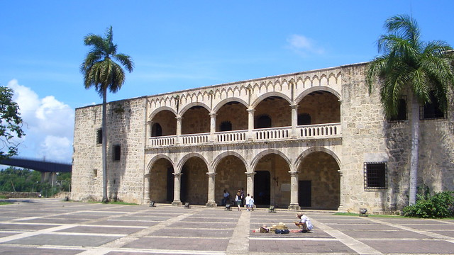 Dominican-Republic - Santo Domingo: Alcázar de Colón in Ciudad Colonial