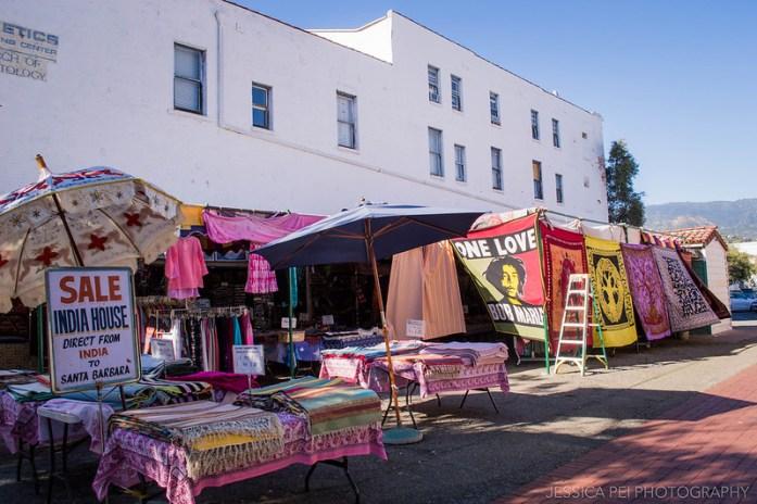 Santa Barbara California Shops