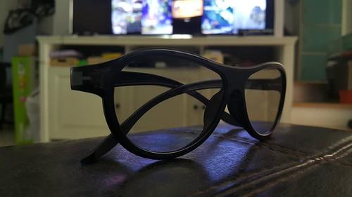 แว่น 3D ของ LG มีมาให้พร้อมกับตัวเครื่อง 4 อัน
