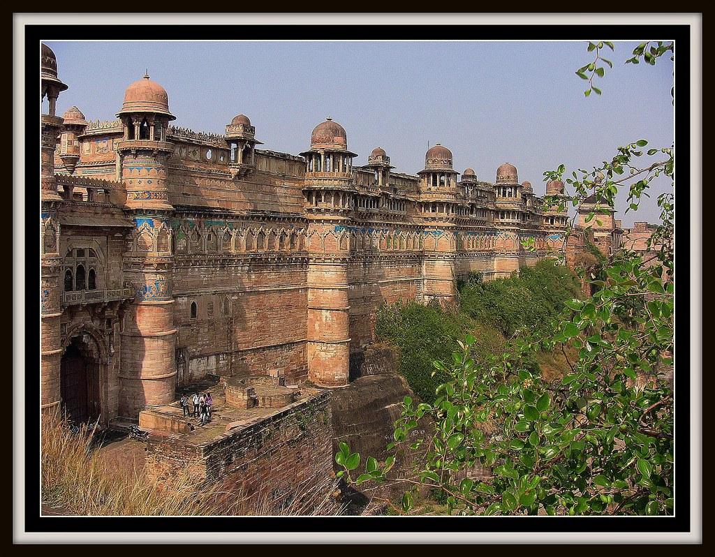 INDIEN, Fort Gwalior, serie, 13619/6583