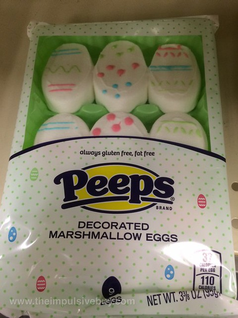 Peeps Decorated Marshmallow Eggs