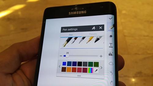 App ของ Samsung จะใช้ประโยชน์จาก edge display