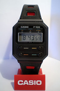 Casio F-100 Reference Photo