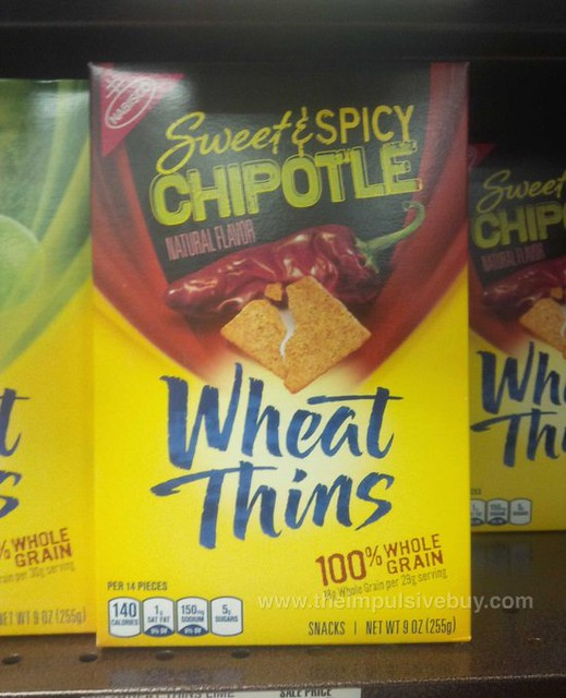 Nabisco Sweet & Spicy Chipotle Wheat Thins