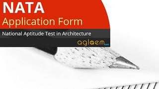 NATA Application Form 2017 - Apply Online