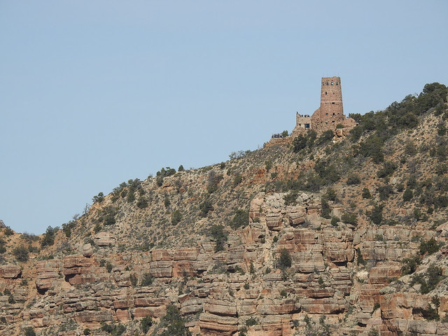 Обзор Nikon P900 Часовая башня в Гранд каньоне