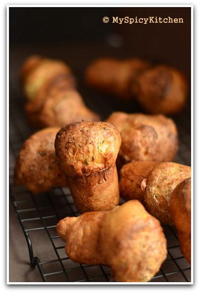 Spicy Popovers, Savory Bakes, Fire up the Oven, Blogging Marathon, Baking Marathon