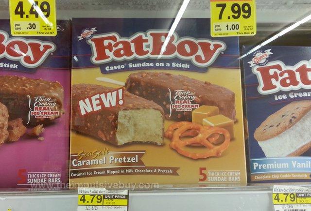 Fat Boy Sea Salt Caramel Pretzel Casco Sundae on a Stick