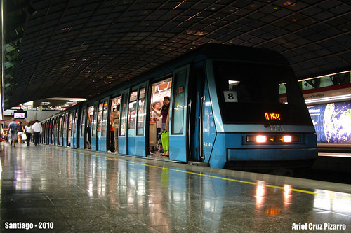Metro de Santiago - Alstom NS93 - Pedro de Valdivia (Línea 1)