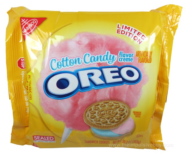 Nabisco Limited Edition Cotton Candy Oreo