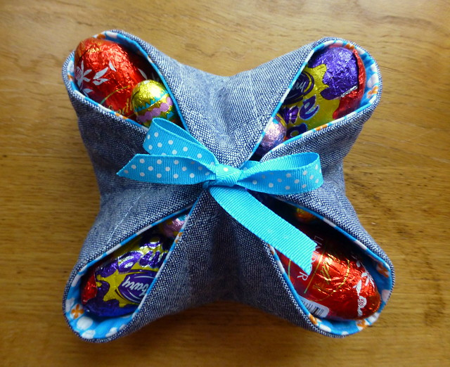 Easter baskets tutorial