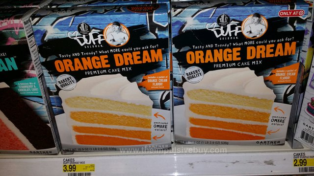 Charm City Cakes Duff Goldman Orange Dream Premium Cake Mix