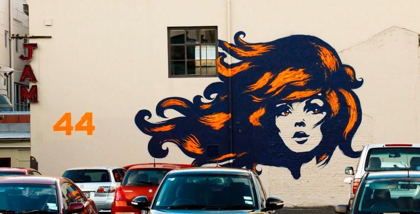 street art i Wellington, New Zealand
