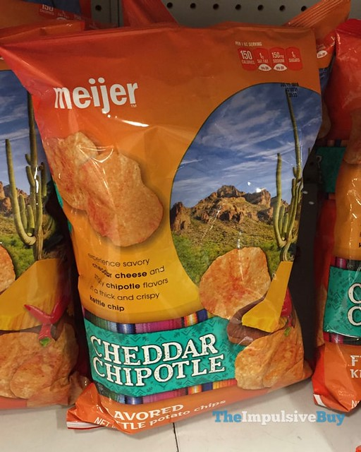 Meijer Cheddar Chipotle Potato Chips