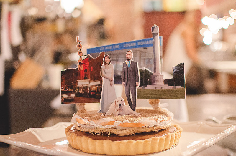 Pi Day wedding from Offbeat Bride