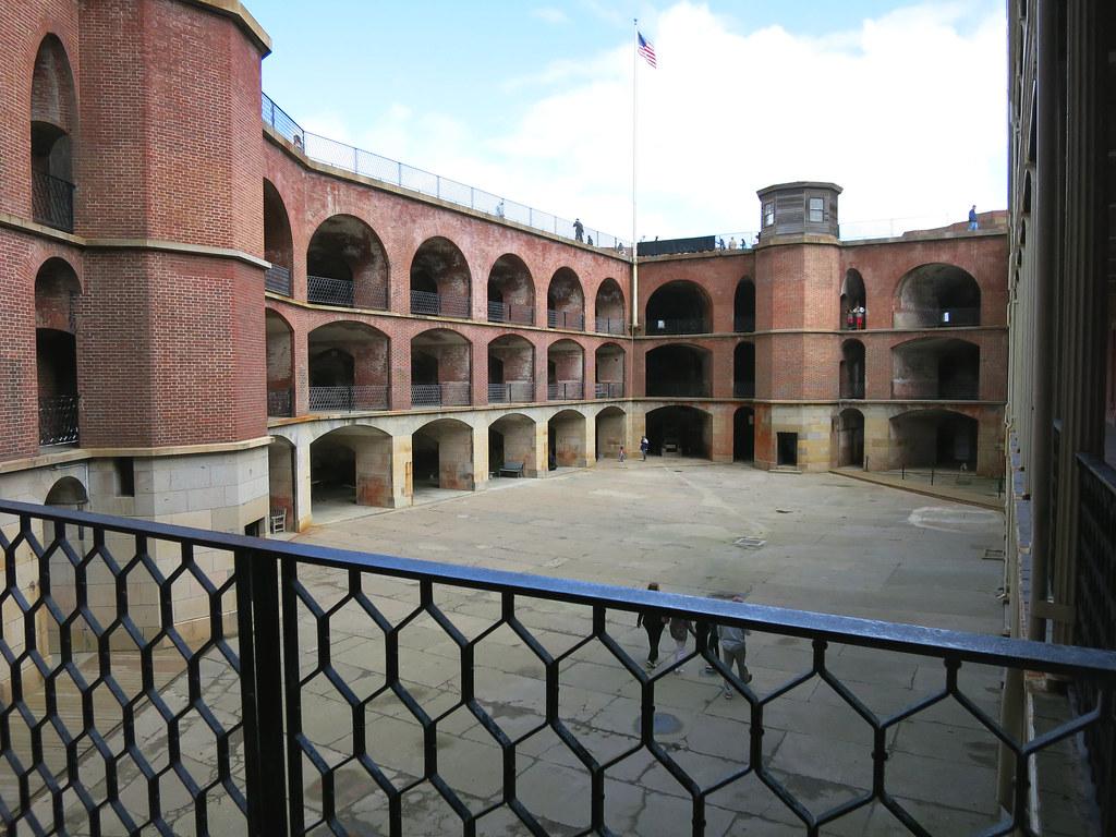 Fort Point inside