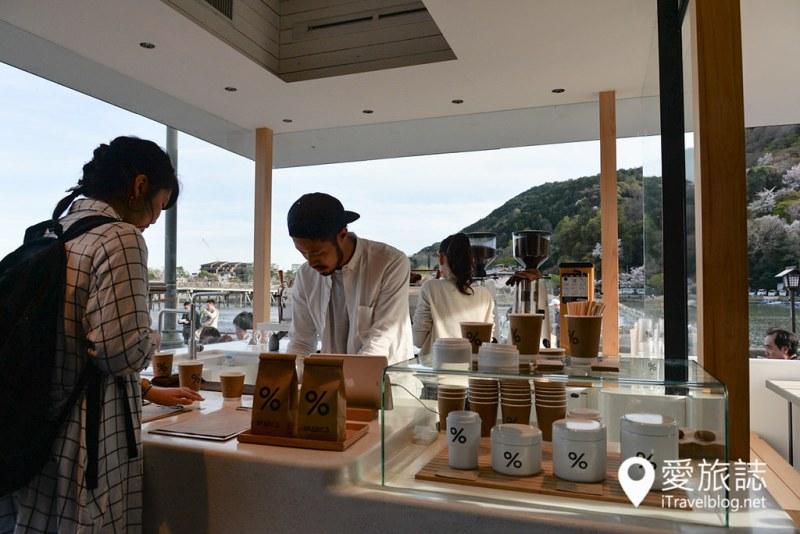 岚山樱花 % Arabica 咖啡店 11