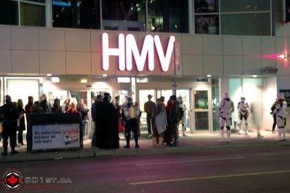 HMV - Star Wars DVD Release