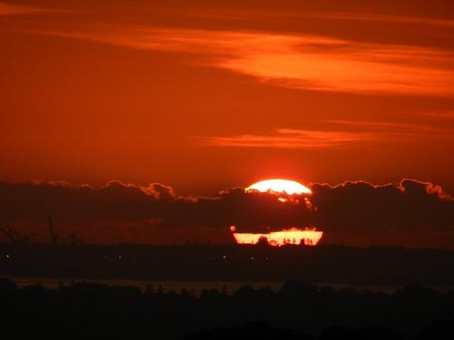 Amazing Red Sunrise
