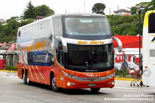 Bus Norte - Puerto Montt - Marcopolo Paradiso 1800 DD / Volvo (FDRT53)