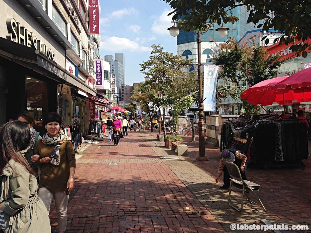 6 October 2014: Bupyeong Market 부평시장   Incheon, South Korea