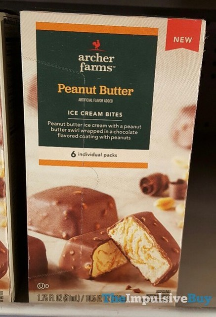 Archer Farms Peanut Butter Ice Cream Bites