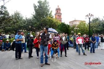 Movimiento Pueblo Libre marcha por el centro; se dicen reprimidos por gobierno soledense
