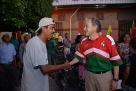 Agradecen villajuarences a Juan Manuel Carreras calles pavimentadas hace 22 años