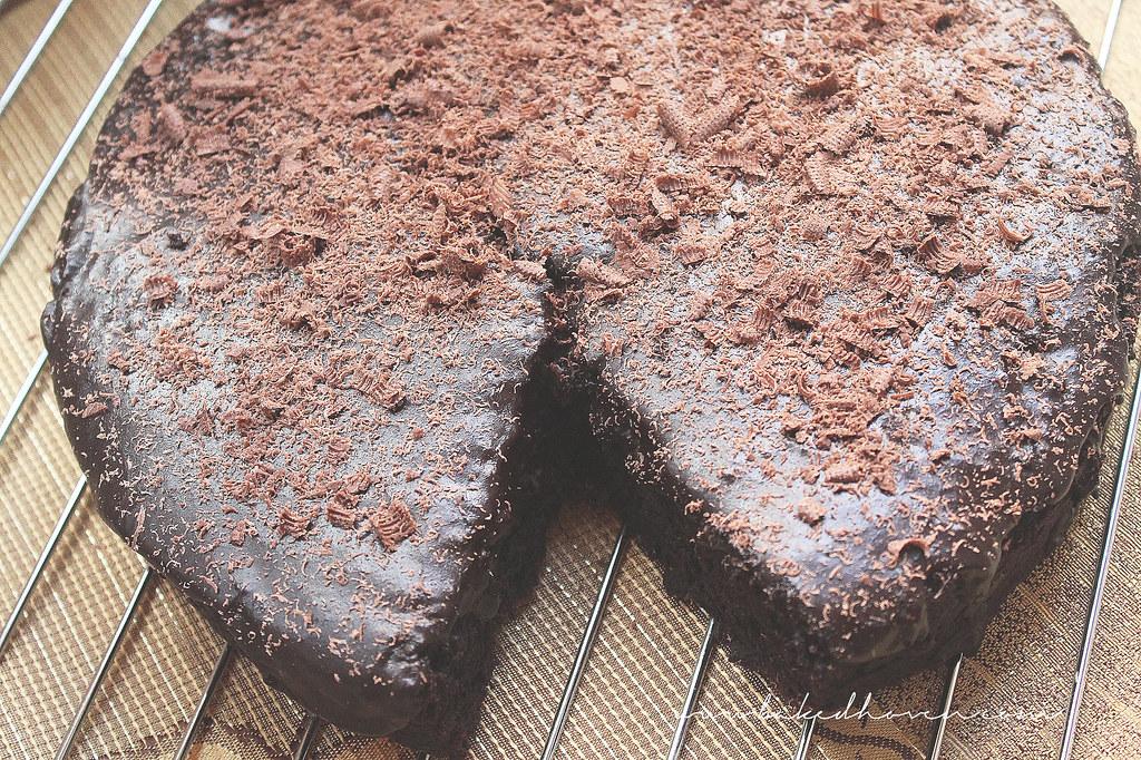 Chocolate Mayonnaise Cake4