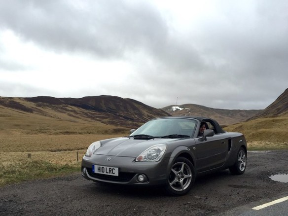 MR2 on the Old Military Road