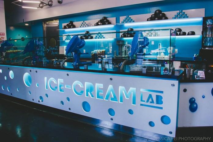Ice Cream Lab Little Tokyo Los Angeles California