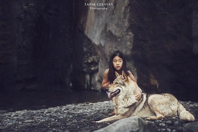 Kamala, la niña loba