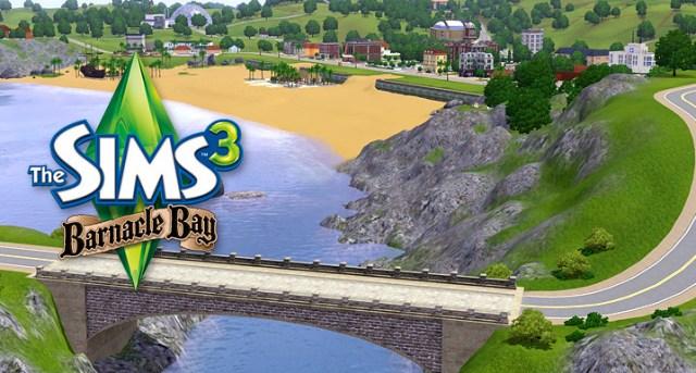 Les Sims 3 Barnacle Bay est disponible !