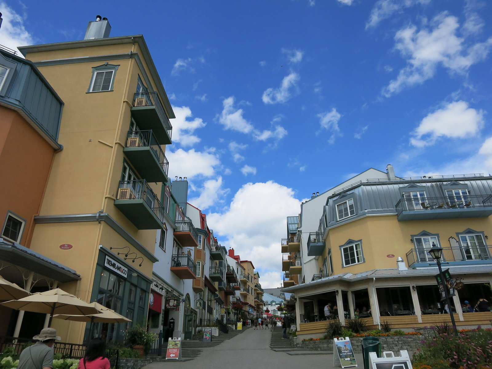 Mont Tremblant Ski Resort buildings
