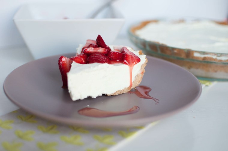 Lime Yogurt Pie 7