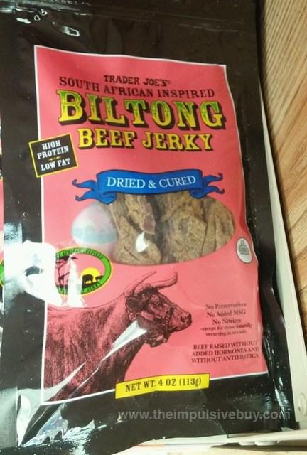 Trader Joe's Biltong Beef Jerky