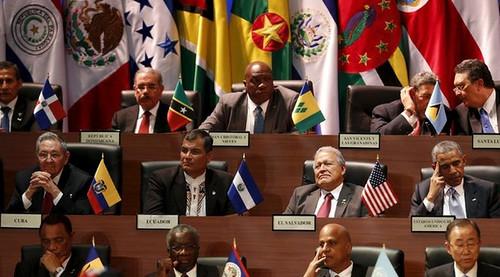 Con demora, inician actividades en la Cumbre de las Américas