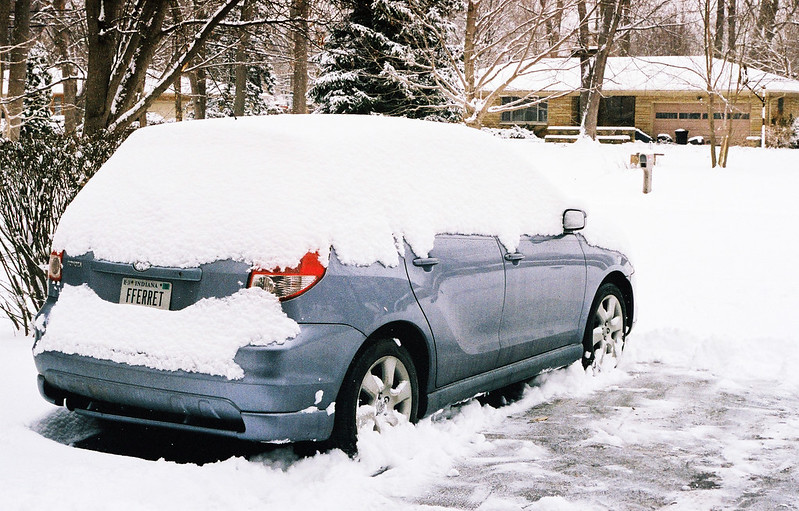 Snow-covered Matrix