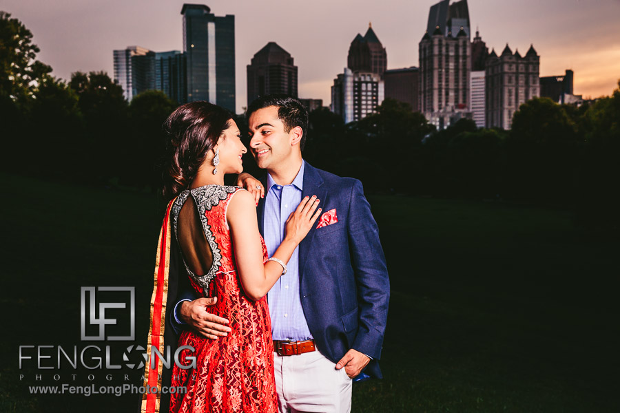 Dilshad & Sabir Engagement | Atlanta Ismaili Pakistani Indian Wedding Photography | Piedmont Park