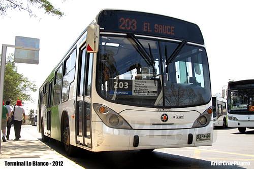 Transantiago - Subus Chile - Marcopolo Gran Viale / Volvo (BJFK86)