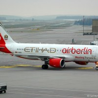 D-ABDU Airbus A320-214 of Air Berlin in special 'Air Berlin Etihad Moving Forward' colours